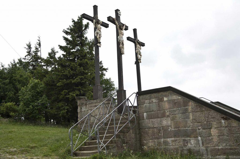 Drei Kreuze auf dem Kreuzberg